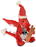 Santa Dragon and Bully Sticks Holiday Combo Pack for Dogs